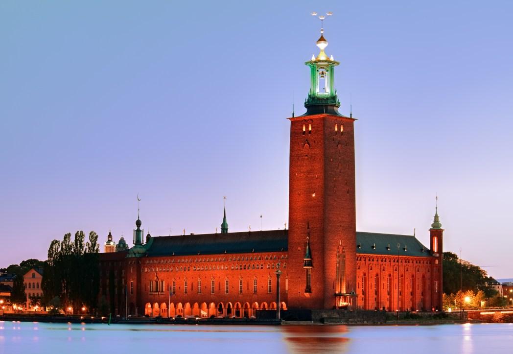 Nähtävyydet, Tukholma: Tukholman kaupungintalo