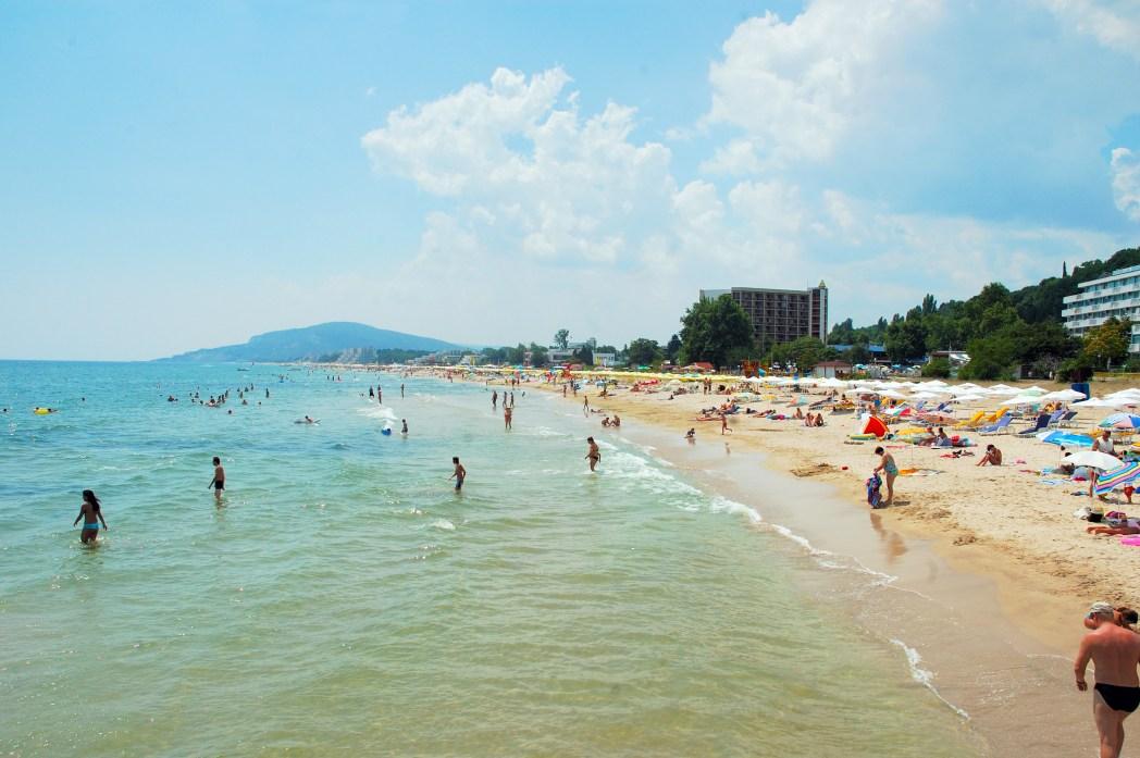 Kuva Bulgarian rannikosta