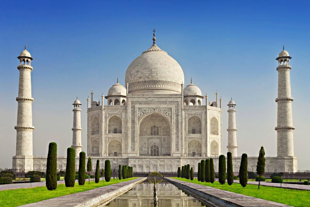 Kuva Taj Mahalista