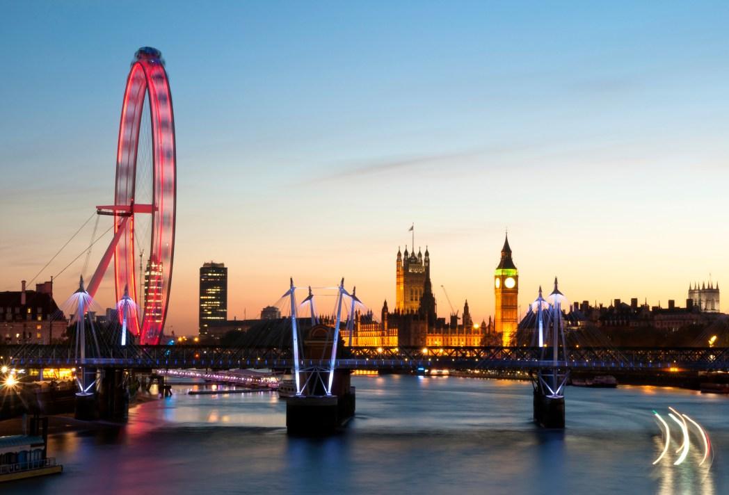 Näkymä Lontooseen