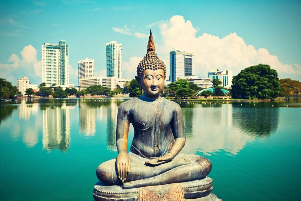 Kuva Temppeleistä Sri Lankassa