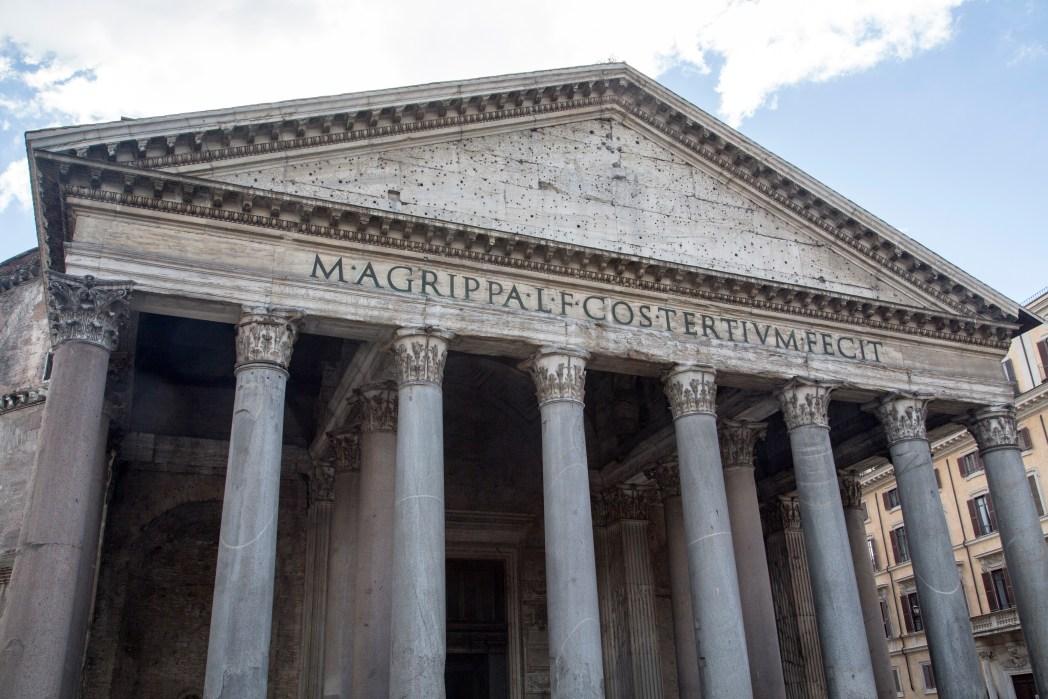 Nähtävyydet Rooma: Pantheon Roomassa